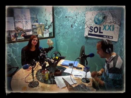 Patri Zenner en Radio sol  XXI