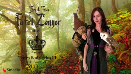 disfruta de la magia de Patri Zenner en el teatro real de aranjuez