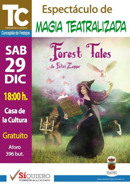 Magia Teatralizada Forest Tales